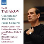 Tabakov: Concerto for Two Flutes; Piano Concerto (CD)