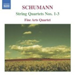 Schumann:  String Quartets Nos 1 - 3 (CD)