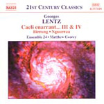 Lentz: Chamber and Orchestral Works (CD)