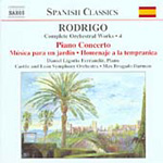 Rodrigo: Complete Orchestra Works, Vol 4 (CD)