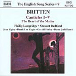 Britten: Canticles I - V; Heart of the Matter (CD)