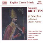 Britten: St Nicolas; Christ Nativity; Psalm 150 (CD)