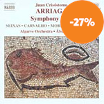 Produktbilde for Arriaga: Symphony in D (CD)