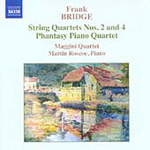 Bridge: String Quartets Nos 2 & 4; Phantasy Piano Quartet (CD)