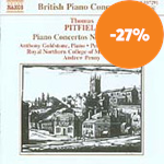 Produktbilde for Pitfield: Piano Concertos Nos 1 & 2 (CD)