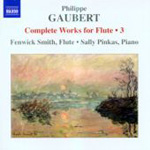 Gaubert: Complete Works for Flute, Vol 3 (CD)