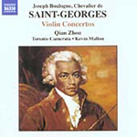 Saint-Georges: Violin Concertos (CD)