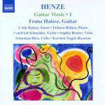 Henze: Guitar Music, Vol 1 (CD)