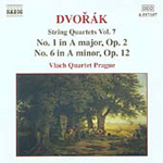 Dvorák: String Quartets Op 2 and Op 12 (CD)