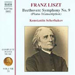 Beethove/Liszt: Symphony No 9 (CD)