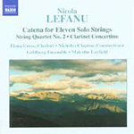 Lefanu: Catena for 11 Solo Strings; String Quartet No 2 (CD)