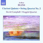 Bliss: Clarinet Quintet; String Quartet No 2 (CD)