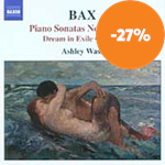 Bax: Piano Works, Vol 1 (CD)