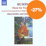 Busoni: Music for Two Pianos (CD)