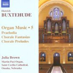 Buxtehude: Organ Music, Vol 5 (CD)