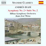 Isasi: Symphony No 2; Suite No 2 (CD)