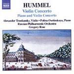 Hummel: Piano and Violin Concerto, Op 17; Violin Concerto (CD)