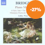 Bridge: Piano Music, Vol 1 (CD)