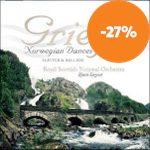Produktbilde for Grieg: Suite, Op 72; Norwegian Dances (CD)