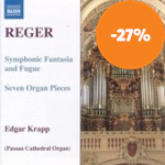 Produktbilde for Reger: Organ Works, Vol 7 (CD)
