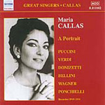 Maria Callas - A Portrait (CD)