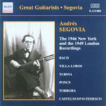 Andrés Segovia - The 1946 New York and the 1949 London Recordings (CD)