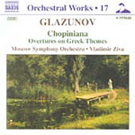 Glazunov: Chopiniana (CD)