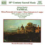 Vanhal: Masses (CD)
