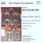 Buxtehude: Organ Works, Vol 2 (CD)