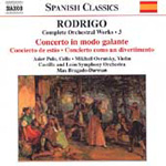 Rodrigo: Complete Orchestral Works Vol 3 (CD)