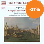 Vivaldi: Complete Bassoon Concertos, Vol 2 (CD)