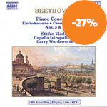 Produktbilde for Beethoven: Piano Concertos 3 and 4 (CD)