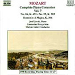 Mozart: Piano Concertos, Vol. 7 (CD)