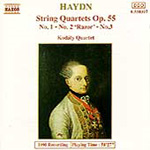 Haydn: String Quartets, Op.55 (CD)