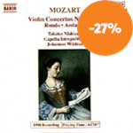Produktbilde for Mozart & Saint-Saëns: Violin Works (CD)