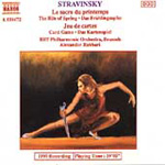 Stravinsky: Rite of Spring, Jeu de Cartes (CD)