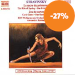 Produktbilde for Stravinsky: Rite of Spring, Jeu de Cartes (CD)