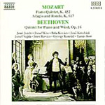 Mozart/Beethoven: Quintets for Piano and Wind etc (CD)