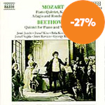 Produktbilde for Mozart/Beethoven: Quintets for Piano and Wind etc (CD)