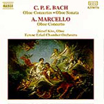 C.P.E.Bach/Marcello: Oboe Works (CD)