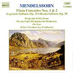 Produktbilde for Mendelssohn: Works for Piano & Orchestra (CD)