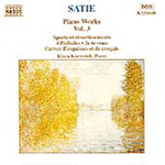 Satie: Piano Works, Vol. 3 (CD)