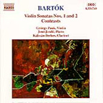 Bartók: Violin Sonatas; Contrasts (CD)