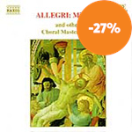 Produktbilde for Allegri: Miserere (CD)