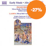 Produktbilde for Palestrina/Lassus: Masses (CD)