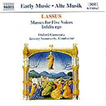 Lassus: Two Masses for Five Voices; Infelix ego (CD)