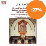 Produktbilde for Bach: Organ Chorales from the Leipzig Manuscript, Volume 1 (CD)