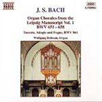 Bach: Organ Chorales from the Leipzig Manuscript, Volume 1 (CD)