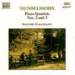 Mendelssohn: Piano Quartets (CD)
