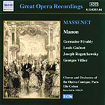 Massenet: Manon (CD)